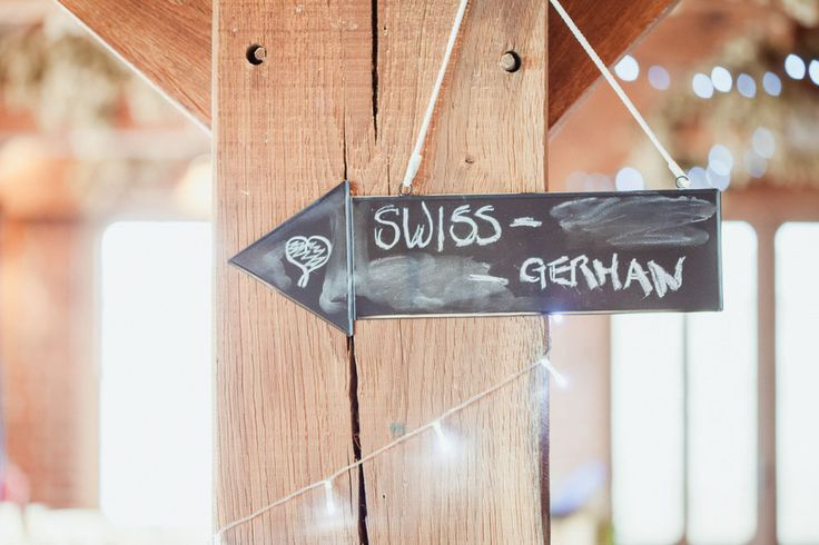 blackboard directional wedding signs - rustic barn wedding decorations (3)