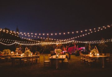 globe festival lights for weddings