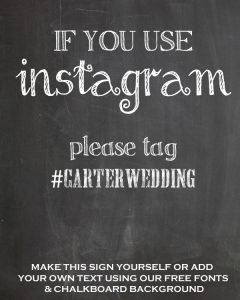 if you use instagram please tag