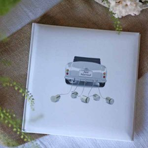 just married guest book