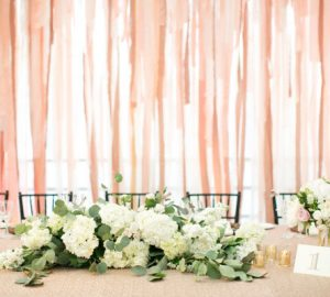 ribon wedding backdrops