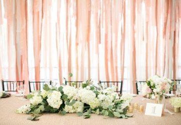 ribon wedding backdrops