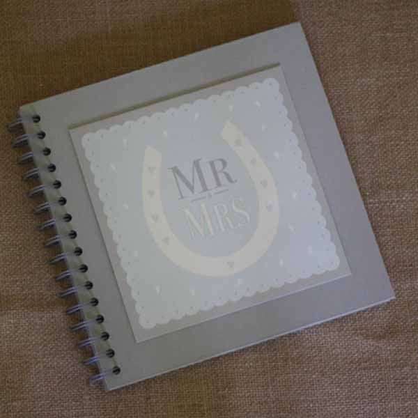wedding guest book mr and mrs