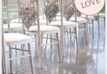 willow hearts aisle decorations wedding