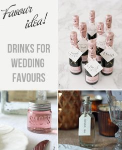 Drinkable Wedding Favours