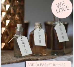 mini bottles wedding favours with cork stopper drinkable wedding favours