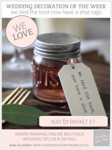 we tied the knot now have a shot tags shot glass wedding favours