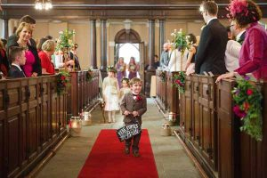 Here Comes The Bride Sign For Ringer Bearer Page Boy Real Wedding at Aynhoe Park