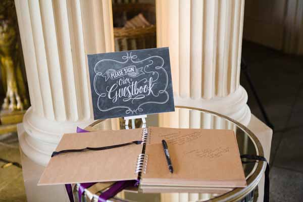Please Sign Our Guestbook Chalkboard Sign - used Here at Real Wedding at Aynhoe Park  (1)
