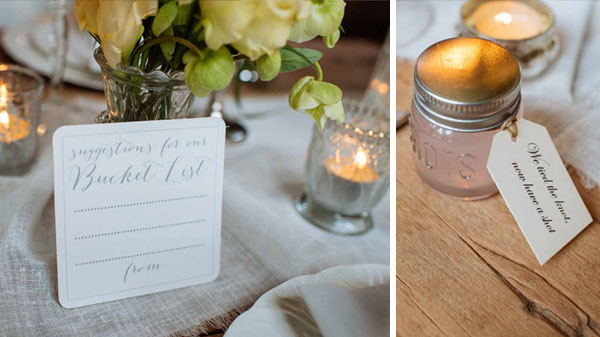 shot glass wedding favours suggestions for our busket list alternative wedding guest book idea