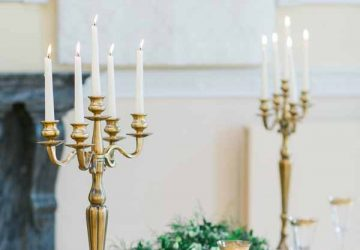 gold candelabra for weddings for sale (1)