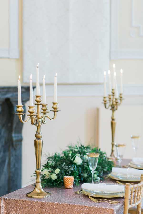 gold candelabra for weddings for sale (1)