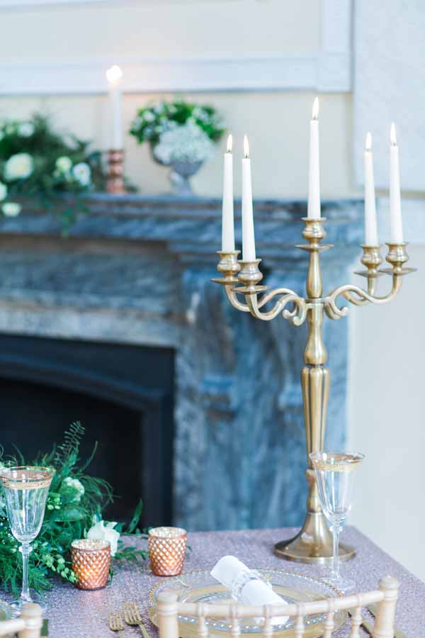gold candelabra for weddings for sale (3)