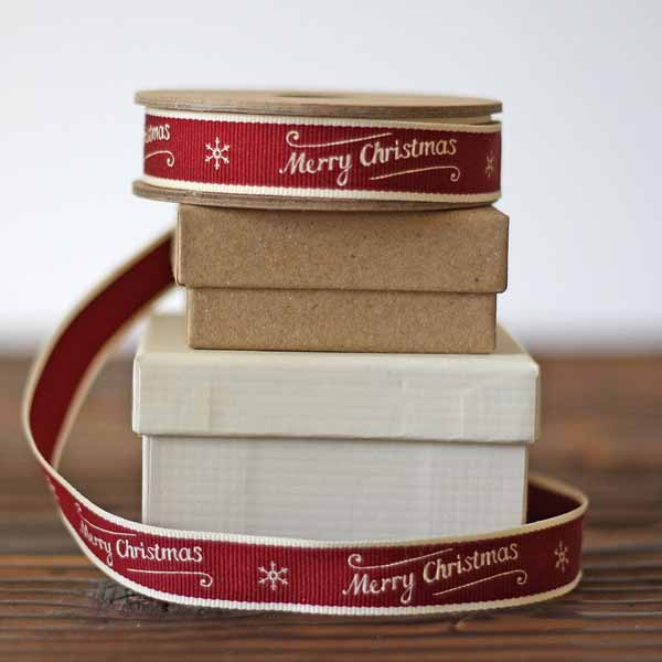 christmas ribbon for wrapping gifts
