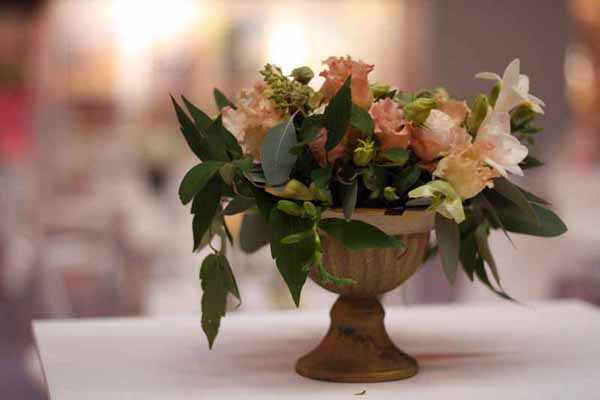 Small Compote Vase Urn Wedding Centrepiece