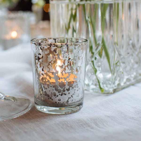 antique-silver-mercury-silver-tea-light-holders-winter-wedding-decorations-