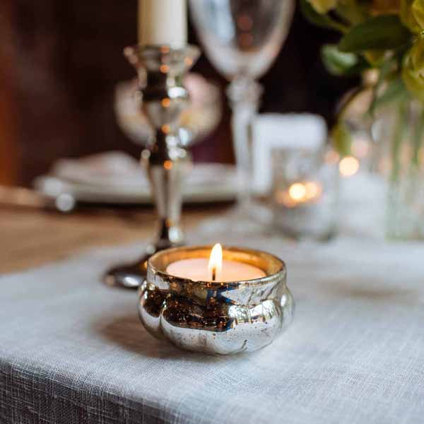 mercury-silver-tea-light-holders-winter-wedding-decorations