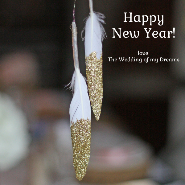 happy new year love the wedding of my dreams