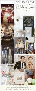 new years eve wedding styling ideas