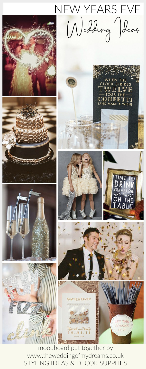 new years eve wedding styling ideas