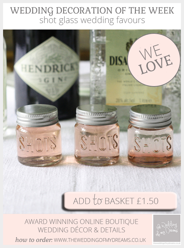 shot glass wedding favours best drinkable wedding favour idea