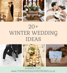 20 Winter wedding ideas you will just have to steal for your wedding this winter