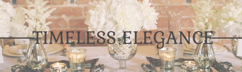 TIMELESS ELEGANCE WEDDING DECORATIONS FOR SALE