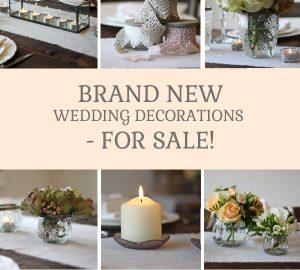 brand new wedding decorations from @theweddingomd