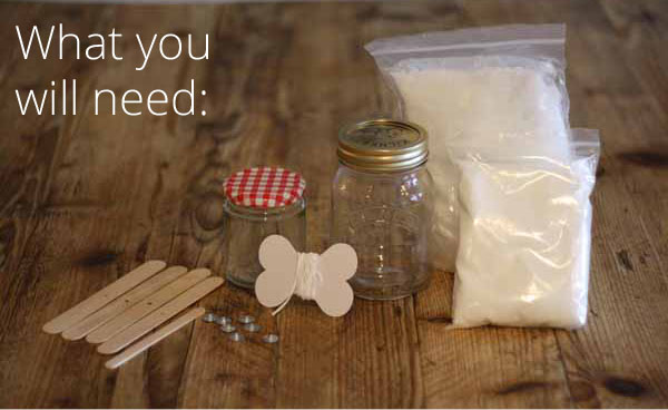 Wedding Favours And Gifts: How To Make Candles In Jars