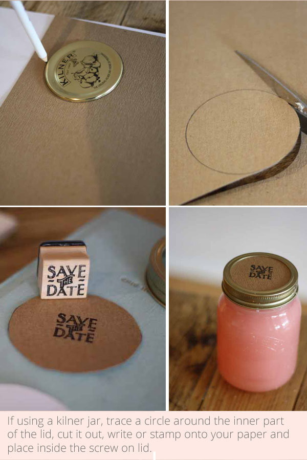 how to guide - make your own candles in jam jars or kilner jars for wedding favours, gifts or save the dates - put together by @theweddingomd - buy everything you need from their online shop