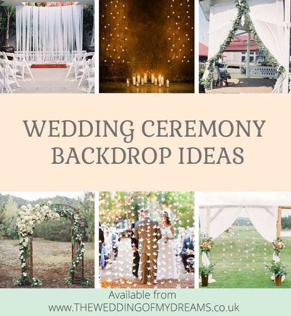 Wedding Ceremony Idea: Wedding Ceremony Backdrop Ideas By @theweddingomd