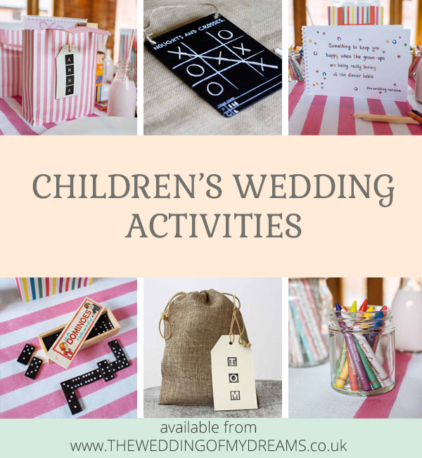 Childrens wedding activities by @theweddingomd
