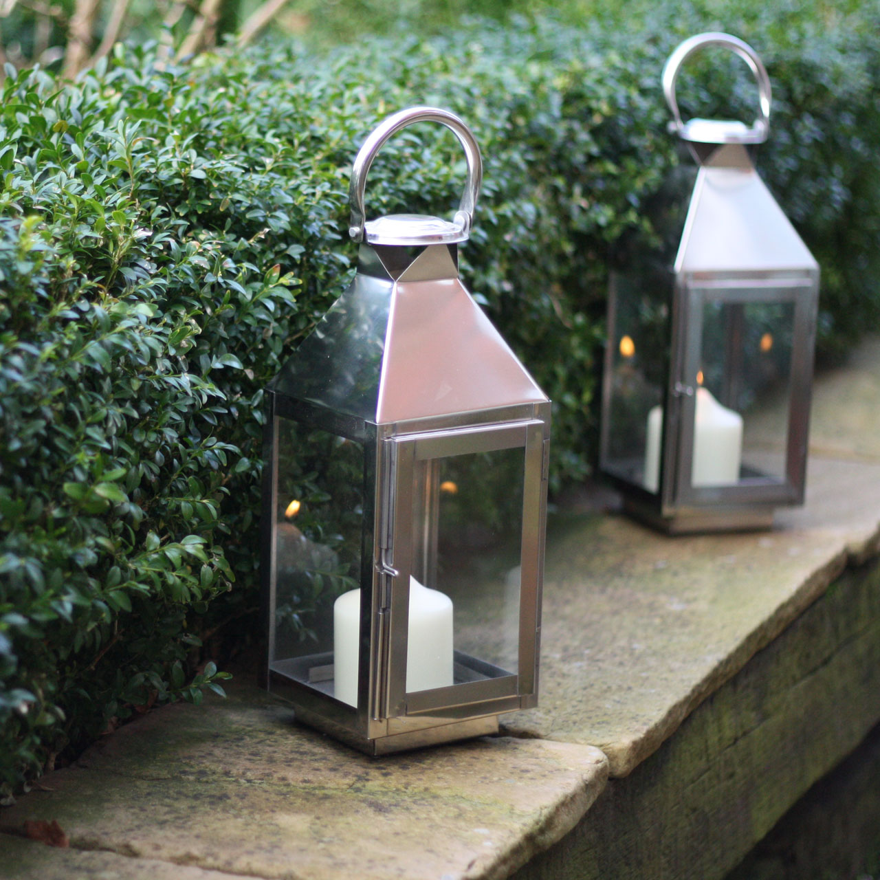 Silver Lantern for Outside at Weddings available from @theweddingomd