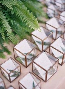 elegant-wedding-escort-cards-in-gold-and-glass-boxes-for-each-guest-220x300