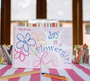 this is my day as a flower girl keepsake book for weddings