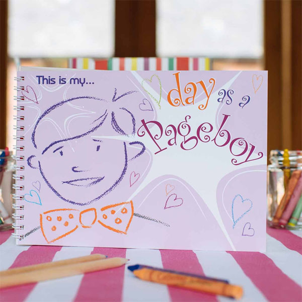 this is my day as a page boy keepsake book for weddings