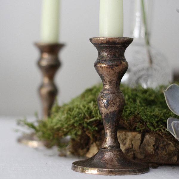 Bronze candle sticks available from @theweddingomd