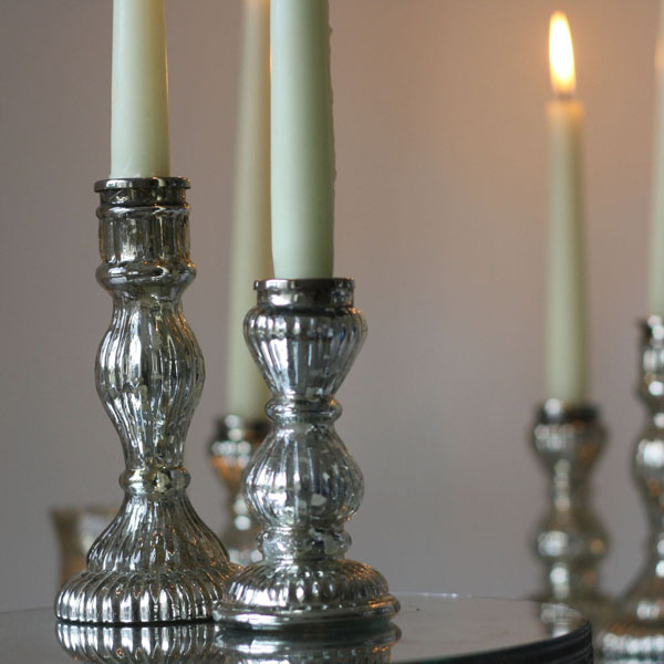 Mercury silver candlesticks available from @theweddingomd