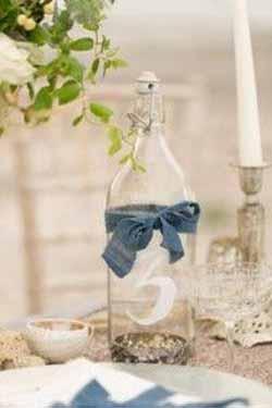 dusky blue wedding ideas
