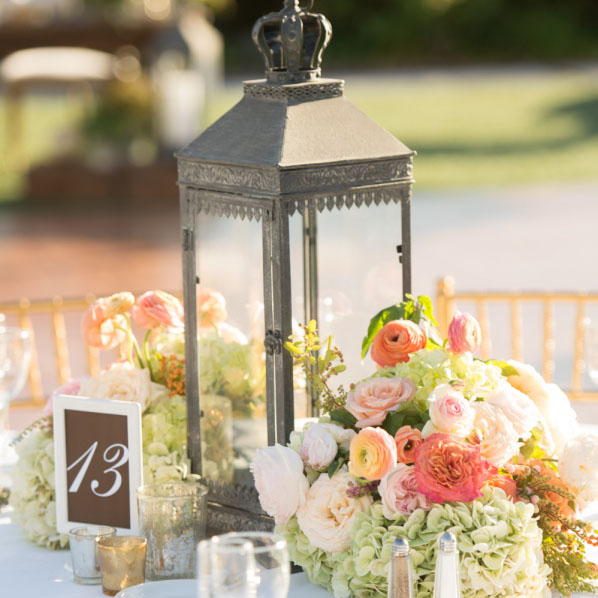 lanterns as wedding centrepieces square