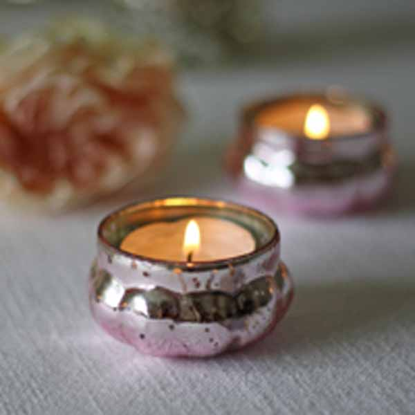 Pink tea light holders available from @theweddingomd The Wedding of my Dreams