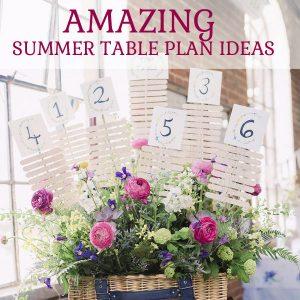 Amazing summer table plan ideas put together by @theweddingomd