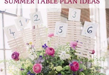 Amazing summer table plan ideas put together by @theweddingomd