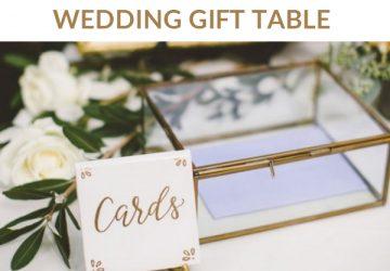 Wedding Gift Table Ideas Uk Wedding Styling Decor Blog