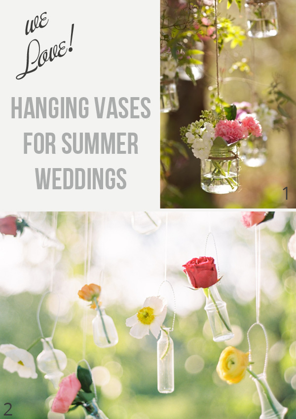 hanging vases for summer weddings available from @theweddingofmydreams