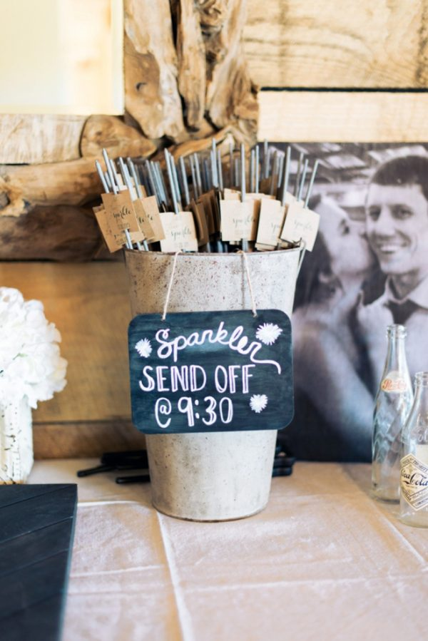 Why ont have a wedding sparkler send off? Sparklers at weddings available from @theweddingomd