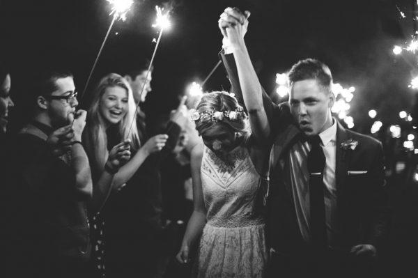 Wedding send - off sparklers - sparklers available from @theweddingomd photo stylemepretty.com - sharaleeprangphotography.com1