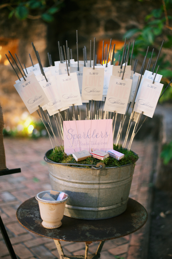 sparklers at weddings available from @theweddingomd stylemepretty.com - youlooknicetodayphoto.com