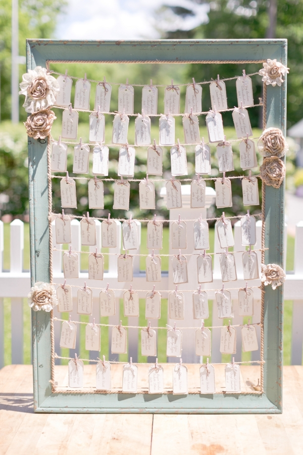 summer wedding table plans large picture frame escort cards luggage tags www.theweddingofmydreams.co.uk