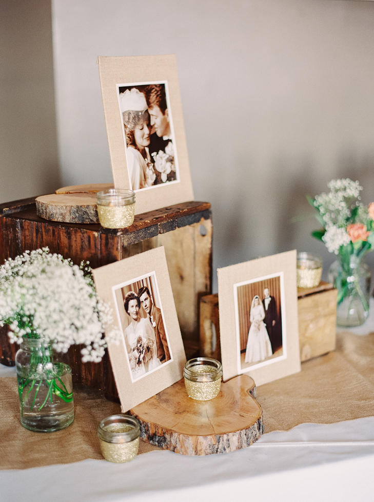 tea lights wedding table